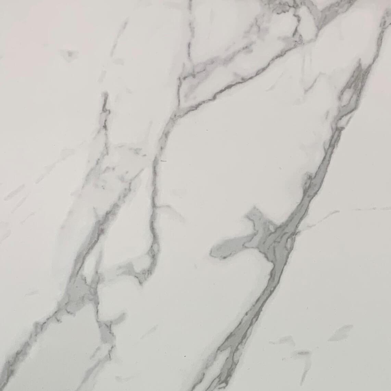 Bianco Carrara Marble Look Matt Rectified Porcelain Tile 3120