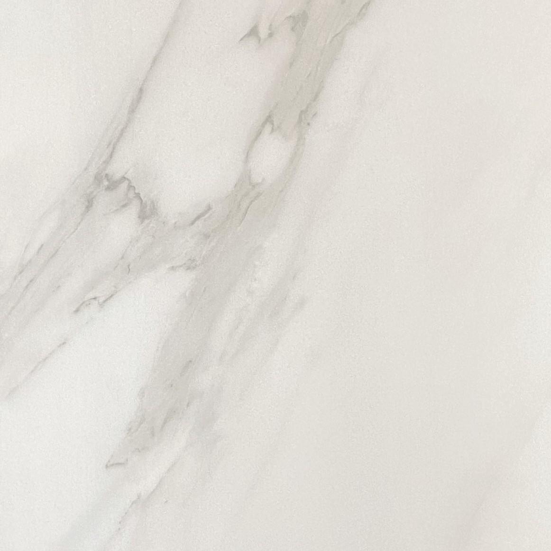 Pure Calacatta White Marble Look Matt Rectified Porcelain Tile 3810