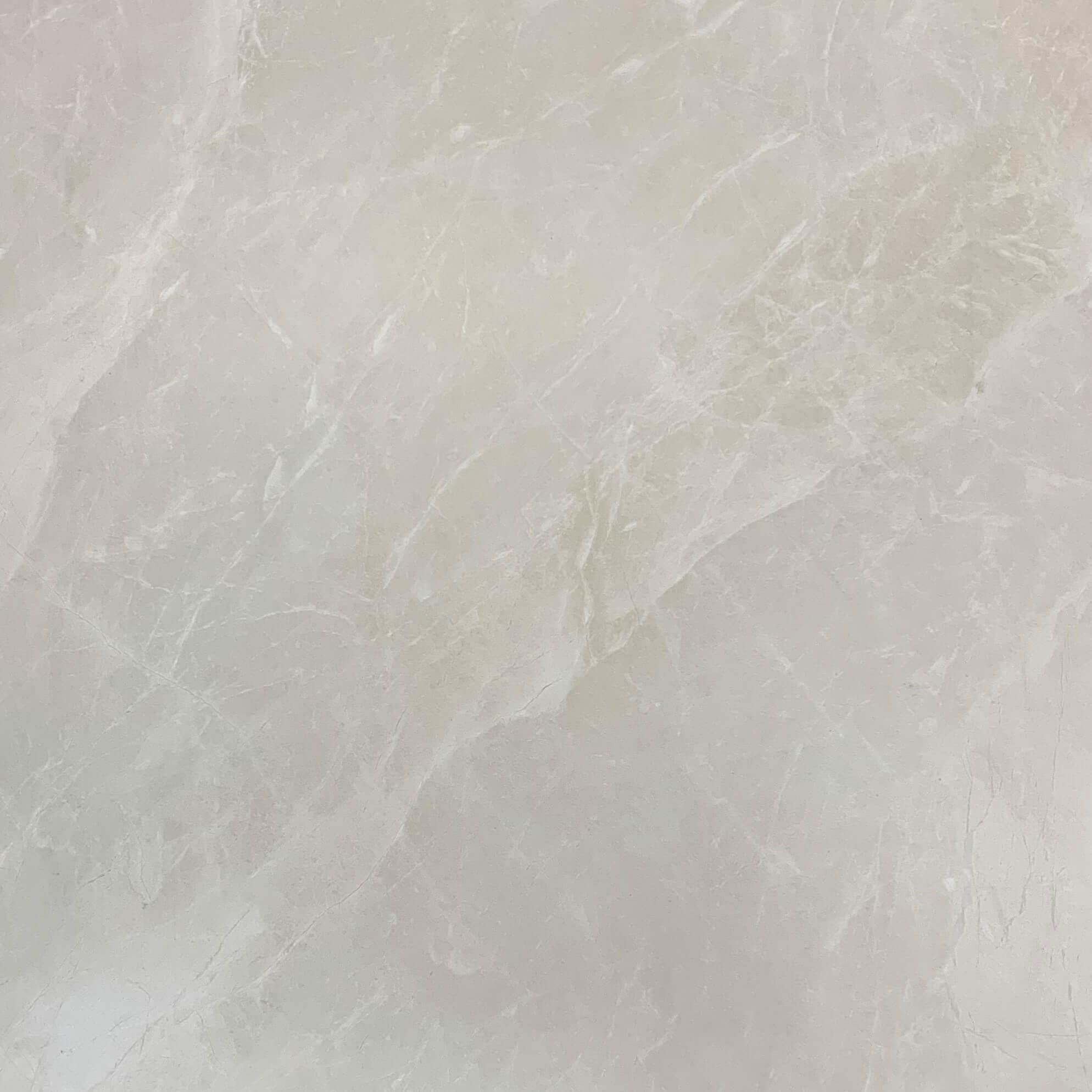 Crema Marfil Marble Look Glaze Polished Rectified Porcelain Tile 3317