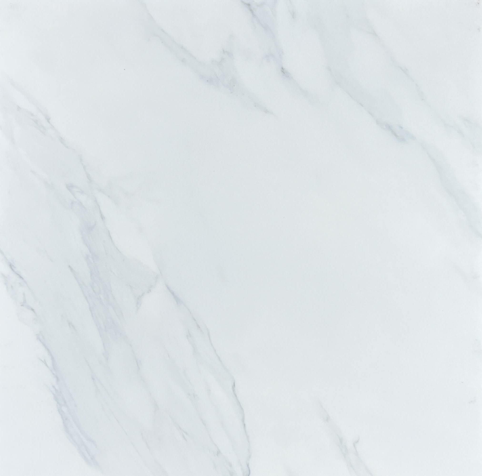 Calacatta White Marble Look Matt Rectified Ceramic Bathroom Floor Tile 3356