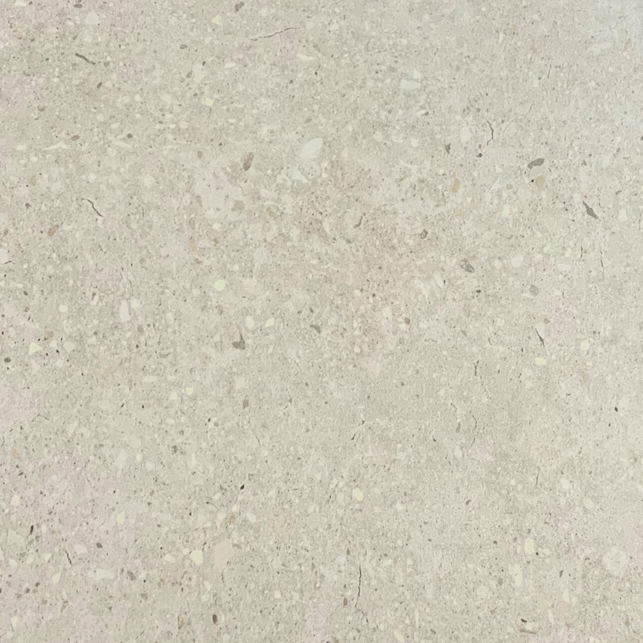 White Concrete Look Anti Slip Rectified Porcelain Tile 3570