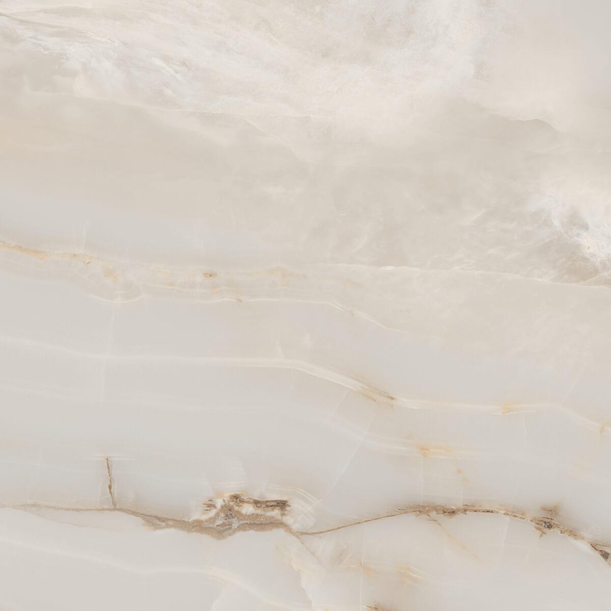 Onyx Smoke Marble Look Polished Rectified Porcelain Tile 3733