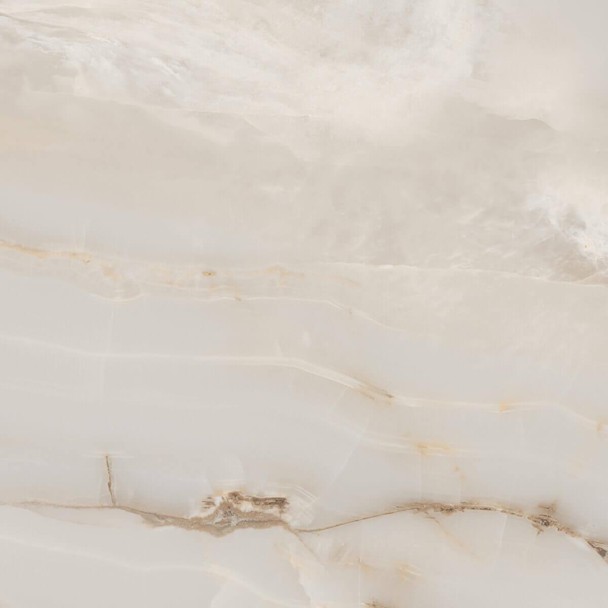 Onyx Smoke Marble Look Polished Rectified Porcelain Tile 3745