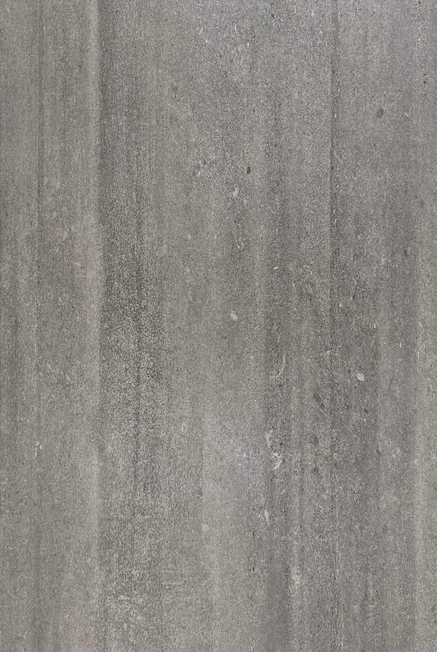 Grey Brushed Concrete Look Matt Rectified Porcelain Tile 3884