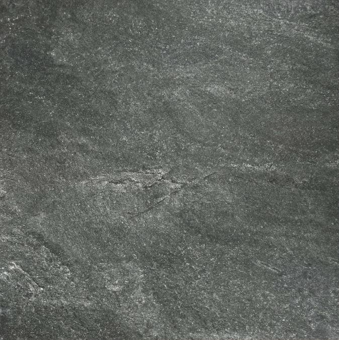 Charcoal Slate Stone Look Rectified Anti-Slip Porcelain Tile 3938