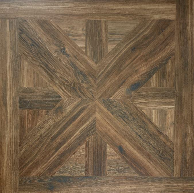 Brown Parquetry Timber Look Matt Spanish Porcelain Tile 3962