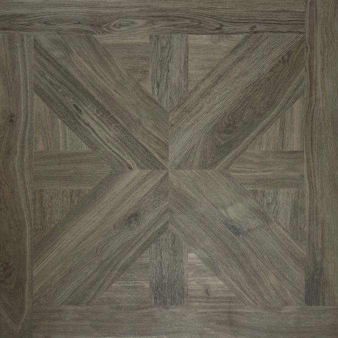 Dark Brown Parquetry Timber Look Matt Spanish Porcelain Tile 3963