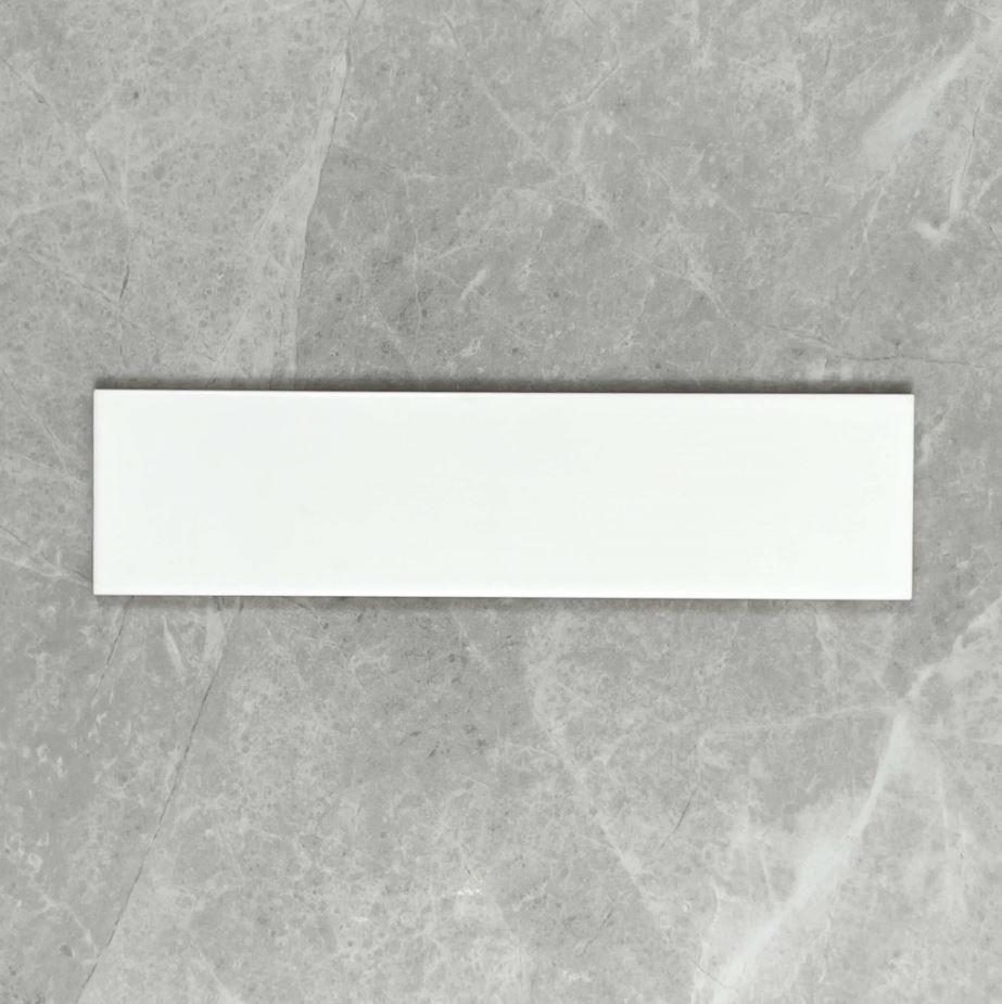 White Gloss Ceramic Subway Wall Tile 4215