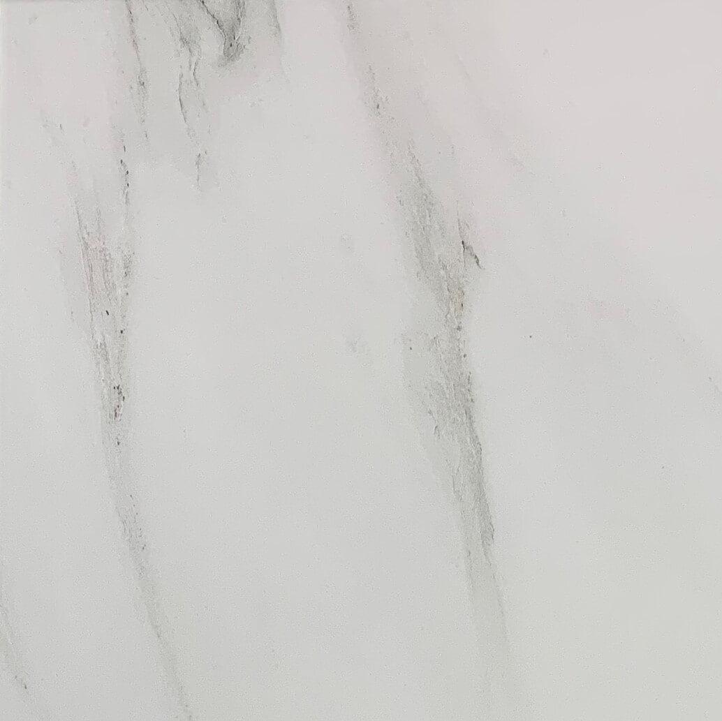 Carrara Marble Look Polished Rectified Porcelain Tile 6907