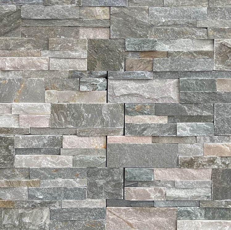Colorado Mixed Colour Interlock Stack Stone 8772