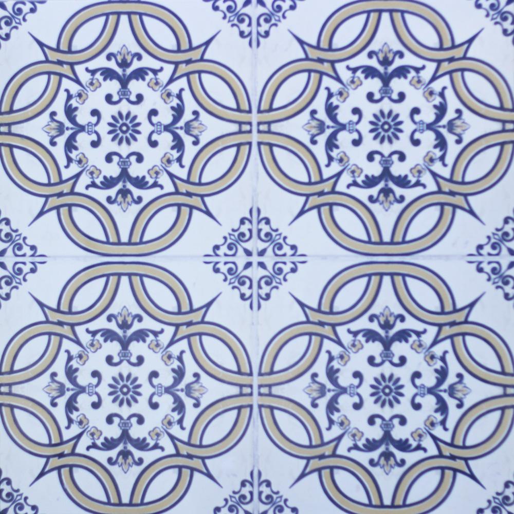 450x450mm Albufera Decorative Spanish Floor Tile (#2007) - Tile ...