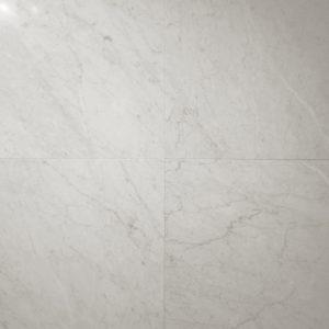 Bianco Carrara Honed Italian Marble Tile
