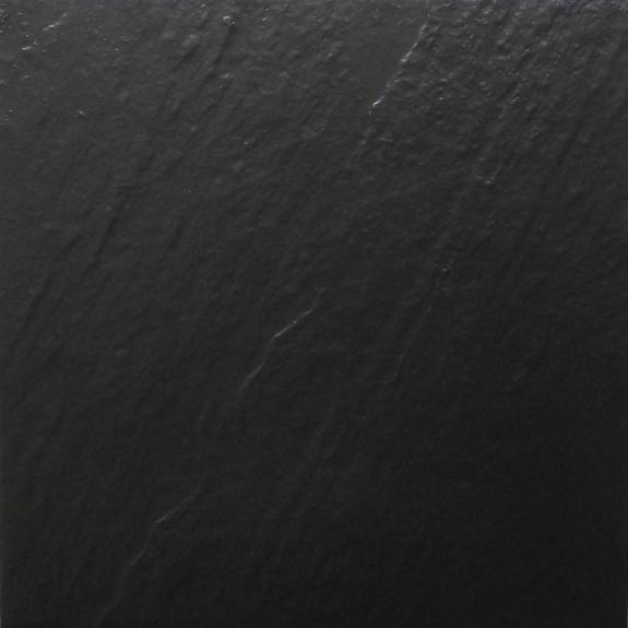 600x600mm Black Slate Look Full Bodied Porcelain Outdoor Tile (#0625)