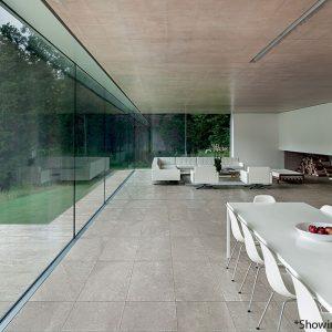 Blend Stone Grey Matt Italian Porcelain Tiles-B