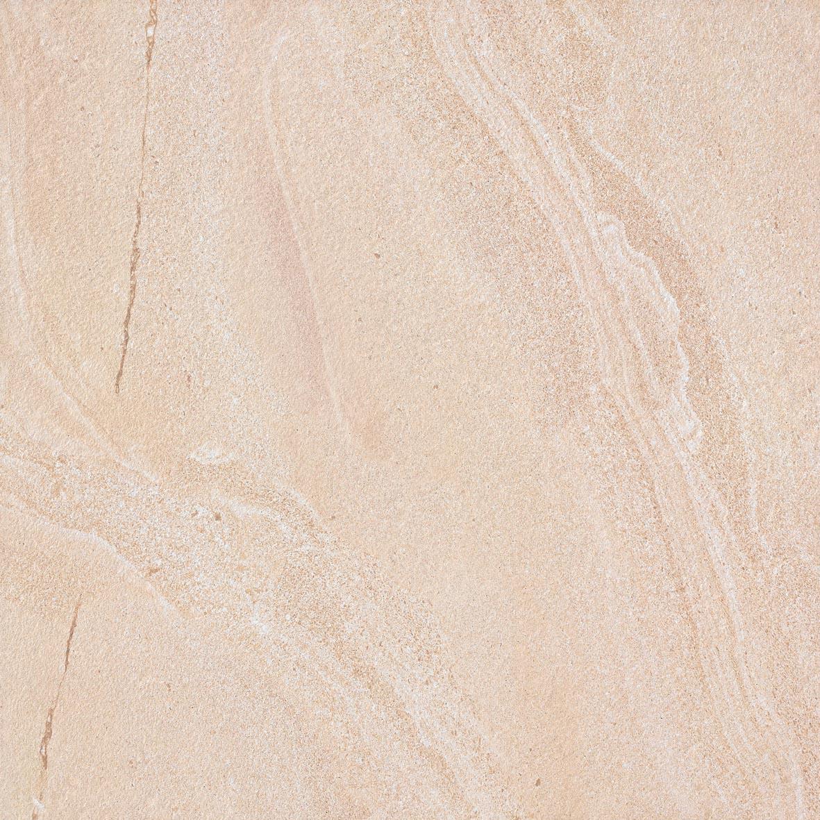 600x600mm Bondi Sand Swirl Look Porcelain Floor Tile (#5090)