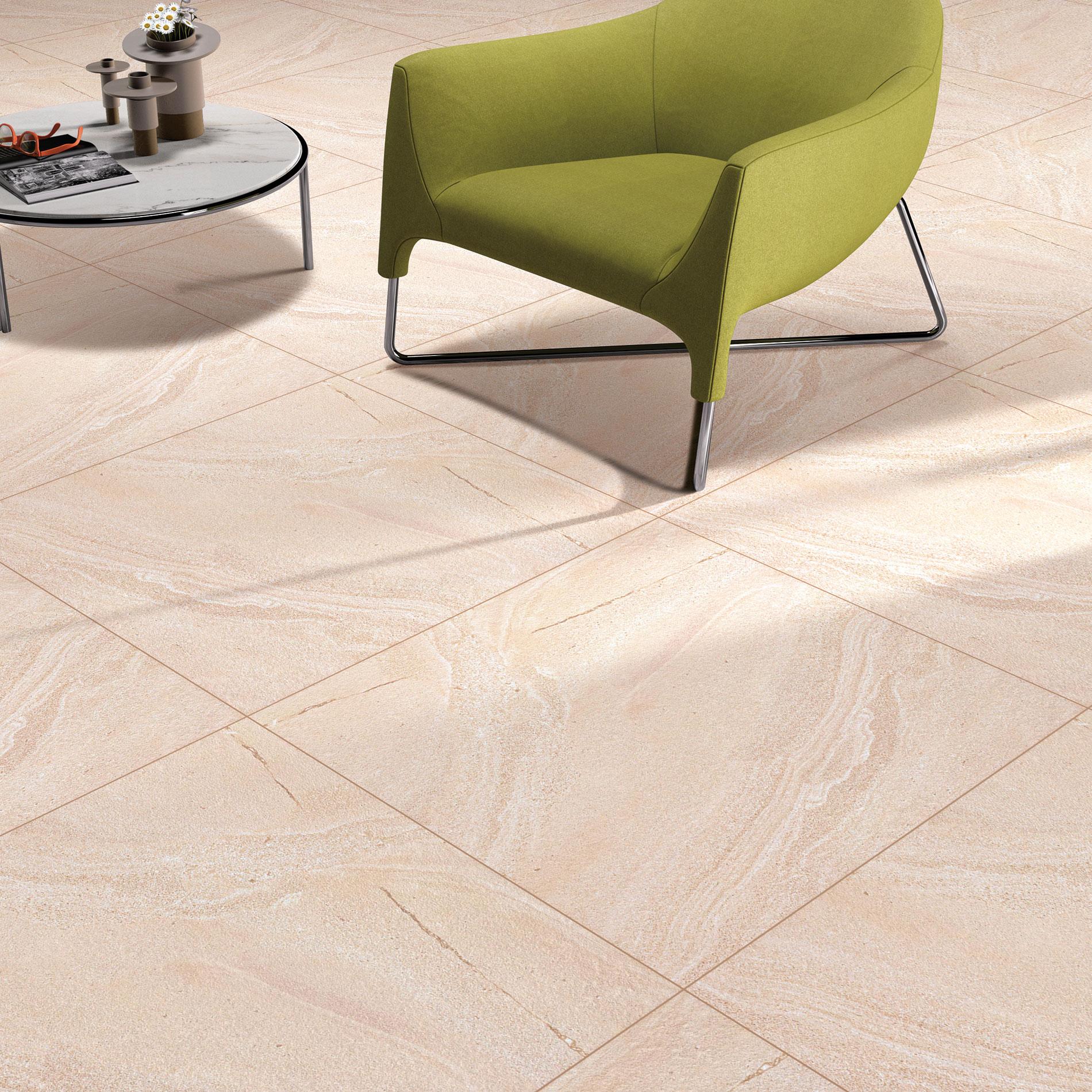 Only 19m2 Bondi Sand Swirl Look Porcelain Floor Tile