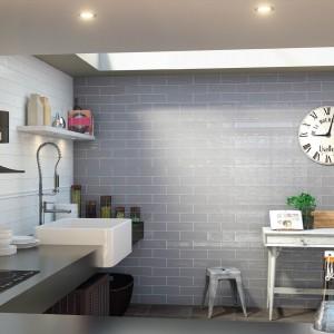 Bulevar Grey Gloss Spanish Wall Tile