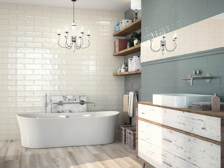 100x300mm Bulevar Ivory Gloss Spanish Wall Tile (#4059) - Tile ...