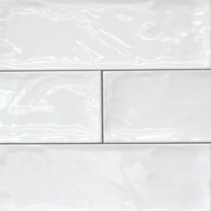 Bulevar White Gloss Spanish Wall Tile
