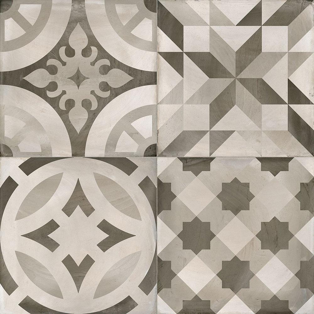 450x450mm Decor Montblanc Pearl Matt Spanish Tile (#4068)