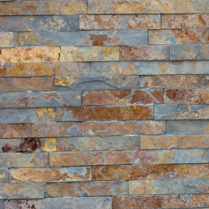 Exotic Natural Stone : Mm exotic gold coast multicolour natural stackstone