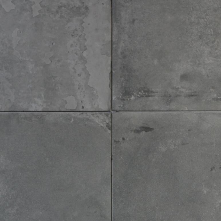 500x500mm Factory Anthracite Portuguese Concrete Look Glazed Porcelain Tile (#5149)