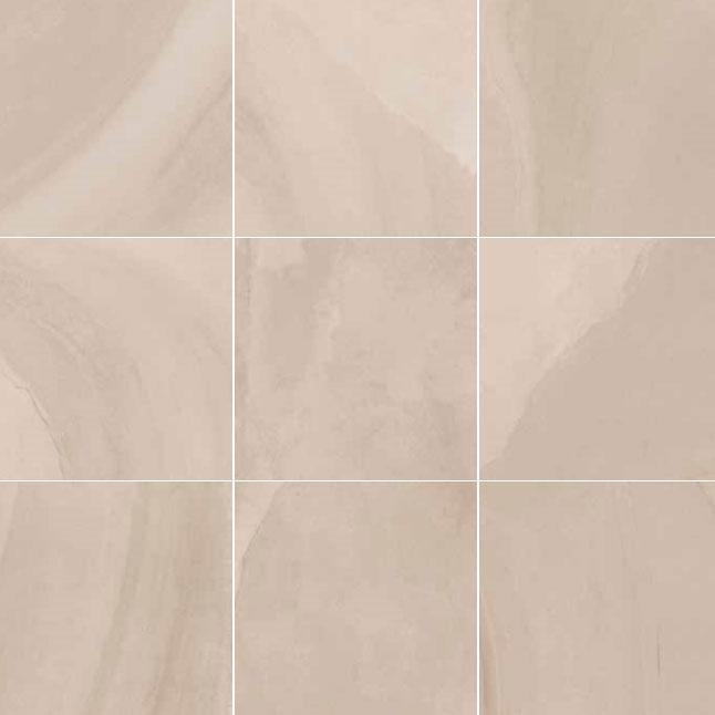 595x595mm Fluido Sabbia Lappato Porcelain Italian Floor Tile (#5526)