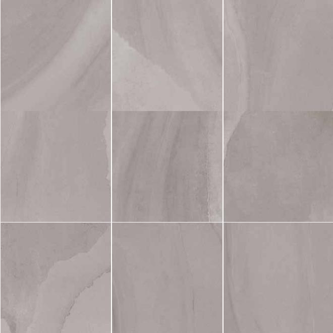 600x600mm Fluido Titanio Matt Porcelain Italian Floor Tile (#5529)