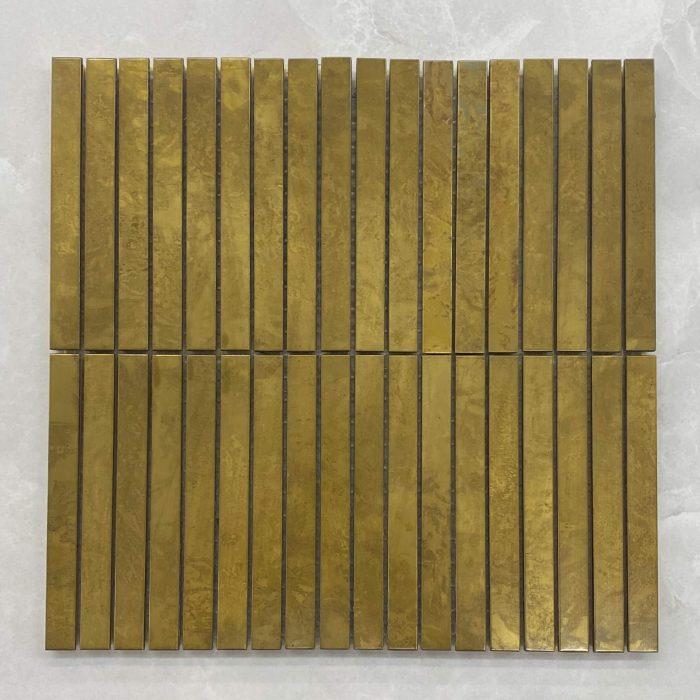 Gold Kit Kat Brass Mosaic 7568