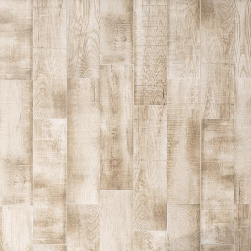 220x850mm Grenier Almond Timber Look Spanish Porcelain Tile (#5168)