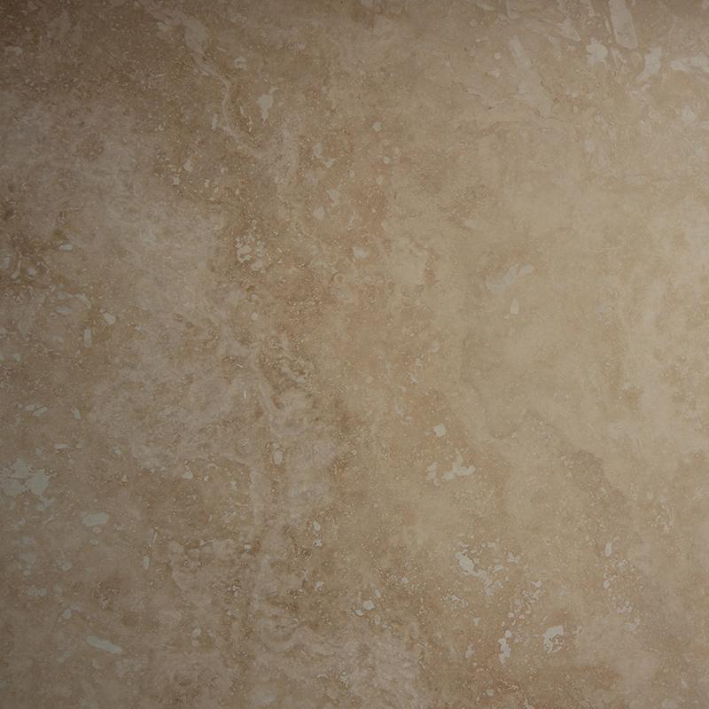 406x810x12mm Light Honed and Filled Travertine Floor Tile (#8377)
