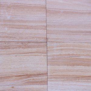 Indian Teak Wood Sandblasted Sandstone Tile