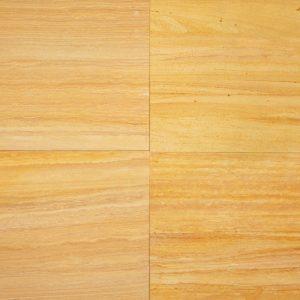 Indian Teak Wood Sandstone Tile
