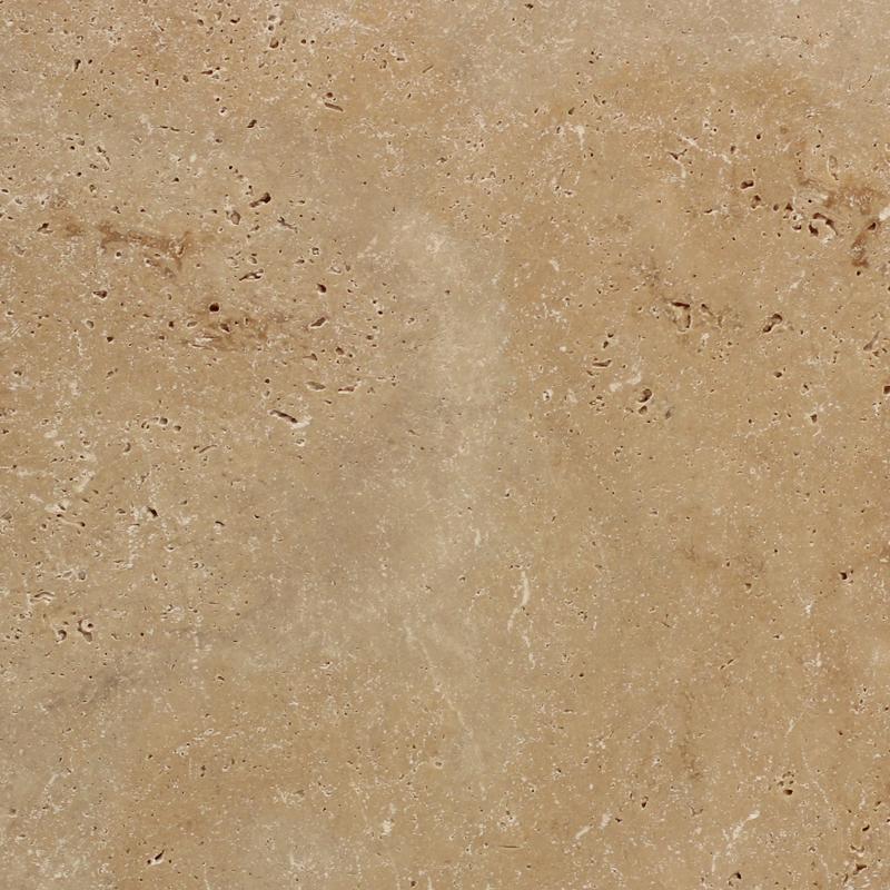 406x610x30mm Light Medium Shade Tumbled Travertine Paver (#8322)