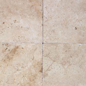 Light Medium Tuscany Tumbled Travertine Tile