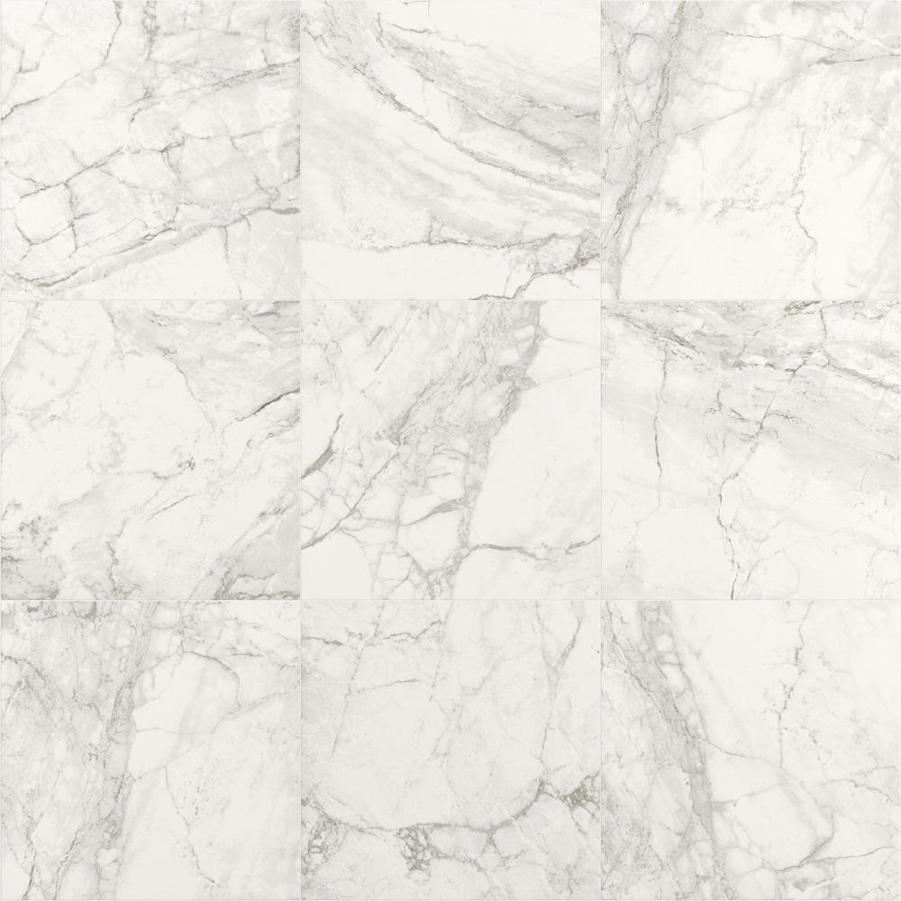 600x600mm Luni Blanco Matt Spanish Porcelain Floor Tile (#5854)