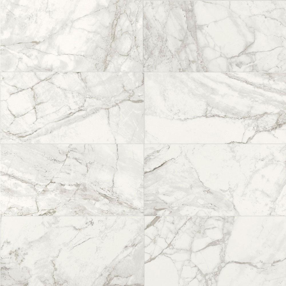 375x750mm Luni Blanco Matt Spanish Porcelain Tile (#5858)