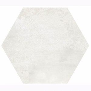 Madelaine White Hexagon Matt Spanish Floor and Wall Tile