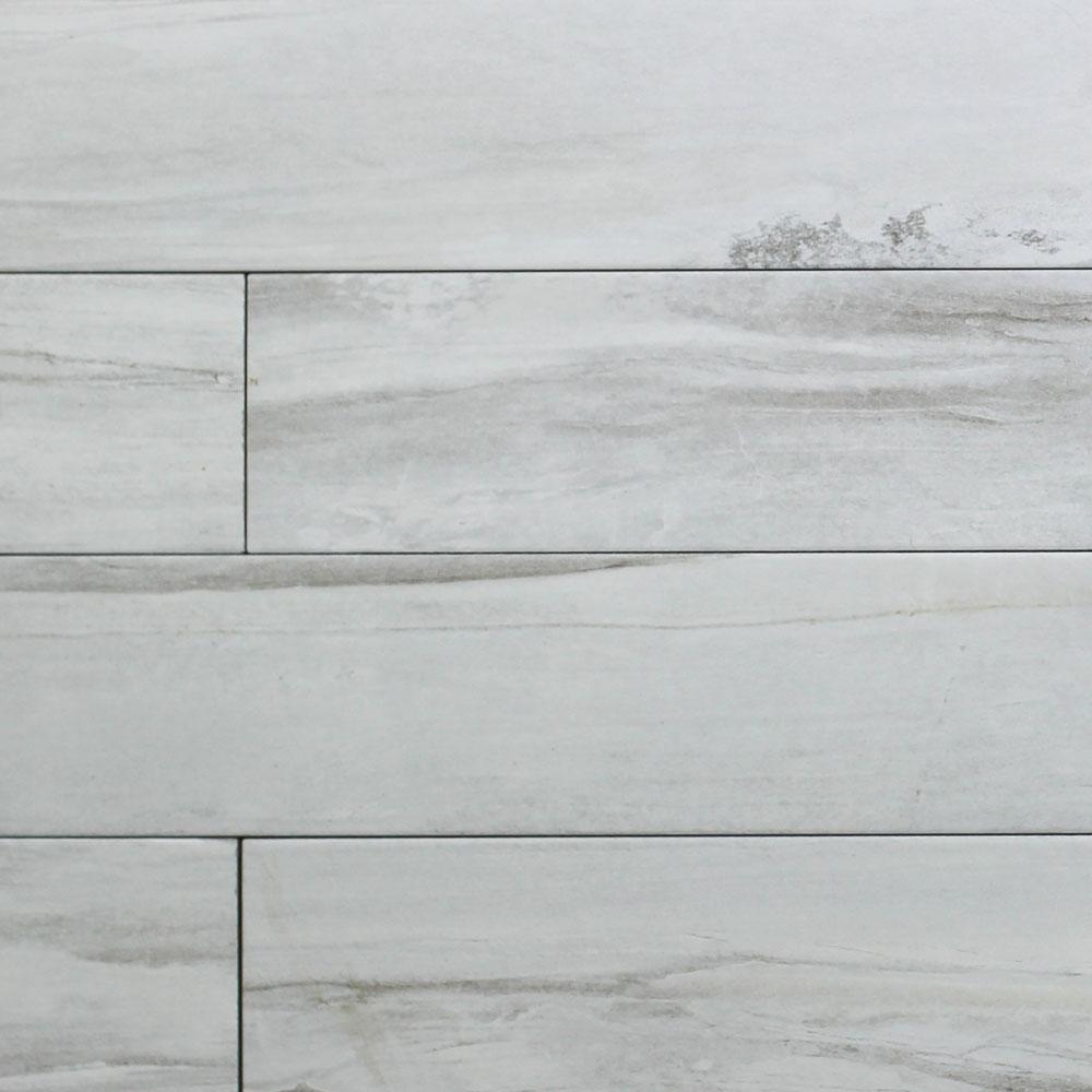 150x1000mm Origin Off White Italian Timber Look Porcelain Tile (#5249)