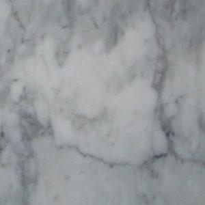 Polished Bianco Carrara Bevelled Italian Marble Tile