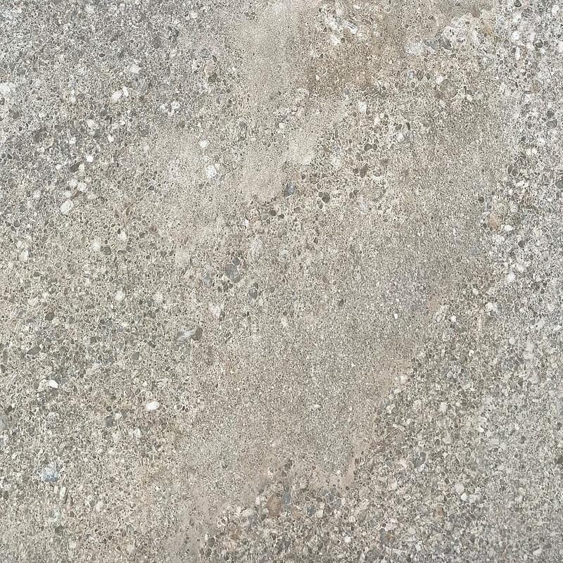 Rock Grey Stone Look Anti Slip  Rectified Outdoor Porcelain Tile 3326