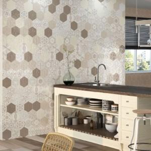 Vodevil Vison Hexagon Gloss Spanish Wall Tile
