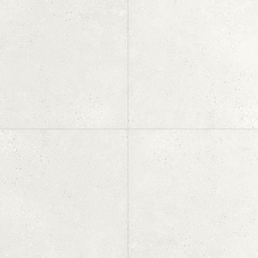 593x593mm White Glazed Lappato Finish Porcelain Floor Tile 5621
