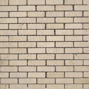White Travertine Mosaic Tile