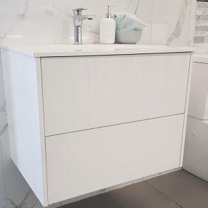 Bianco Wall Hung Vanity – Single Basin