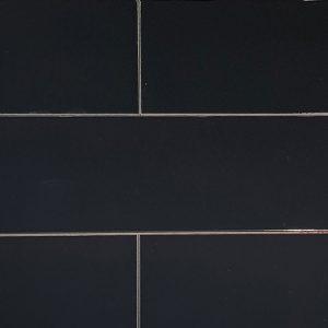 Black Gloss Ceramic Wall Tile