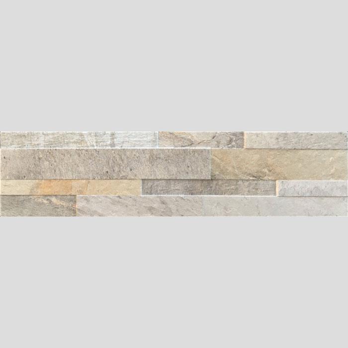 150x605mm Canyon Cream Stone Look Matt Italian Porcelain Tile (#6253)
