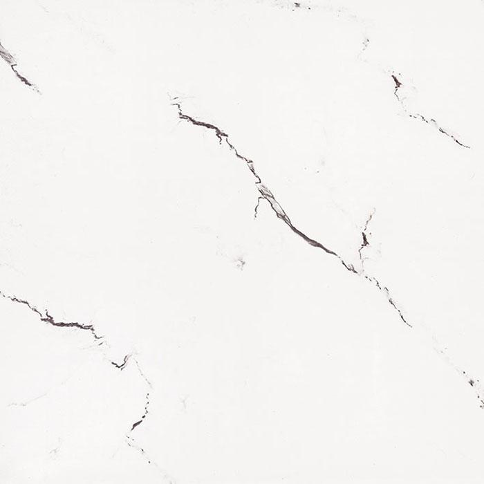 Carrara Bianco Polished Glazed Rectified Porcelain Floor Tile 6095