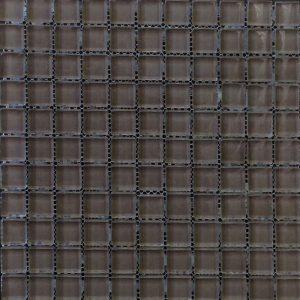 Chocolate Fudge Colour Glass Mosaic Sheet