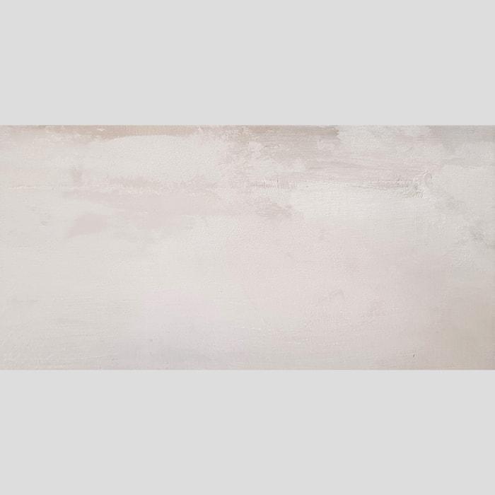 300x600mm Contemporary Silver Matt Italian Non-Rectified Porcelain Tile (#6570)